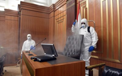 The importance of having your workplace disinfected